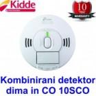 Detektor dima in oglj. monoksida (CO) Kidde 10SCO